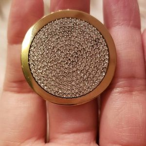 Michael Kors Statement Ring Gold sz 7